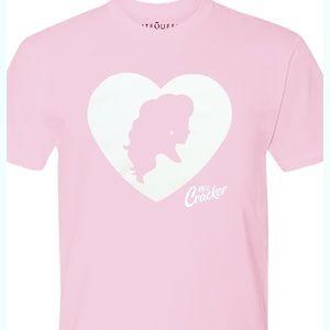 Miz Cracker Drag Queen Pink T shirt